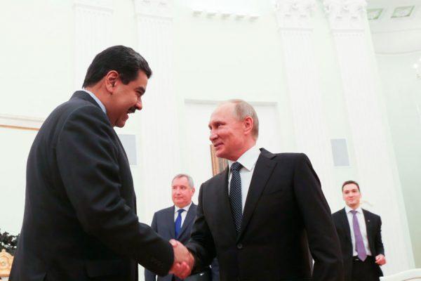 La influencia de Putin en Venezuela, un desafío para Estados Unidos