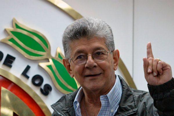 Ramos Allup: República Dominicana es el mejor escenario para denunciar al Gobierno
