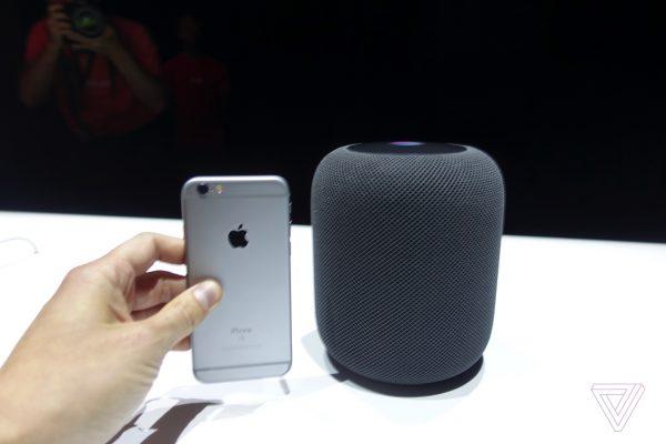 Apple comenzará venta de parlante HomePod a inicios de 2018