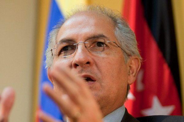 Antonio Ledezma reaparece con propuesta de 'Plan Marshall' para Venezuela