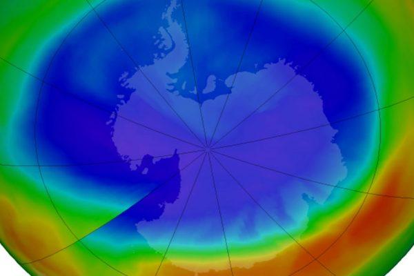El agujero de la capa de ozono es el más pequeño desde 1988