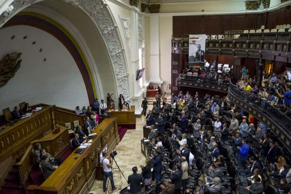 AN tilda de «golpe de Estado» eventual adelanto de legislativas