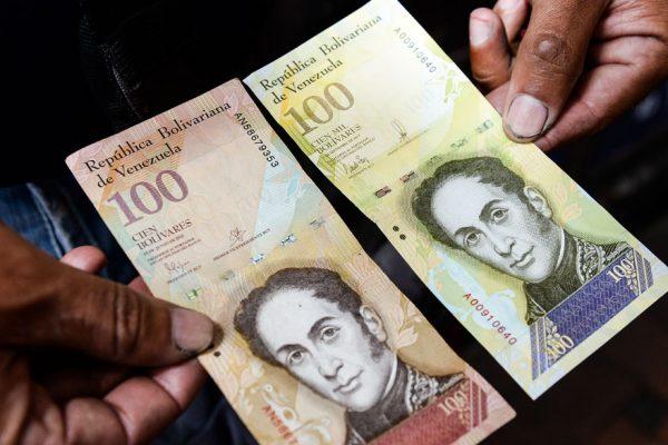 Billetes en circulación crecieron apenas 8,67% en siete meses