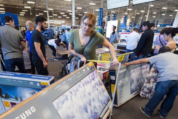 El «Black Friday» crece en EE.UU a pesar de los temores a una recesión
