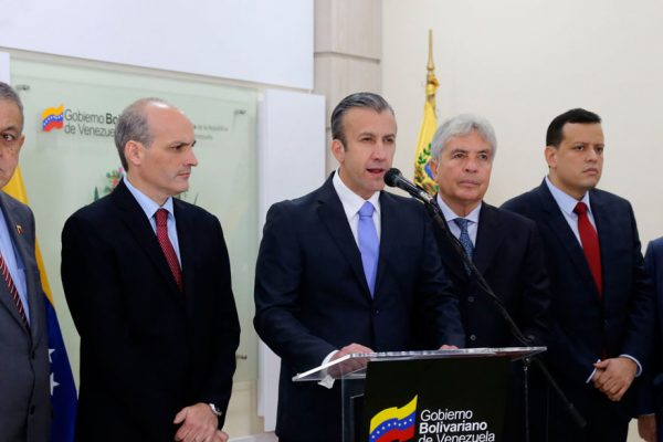 Gobierno convoca reunión con tenedores de bonos en Caracas