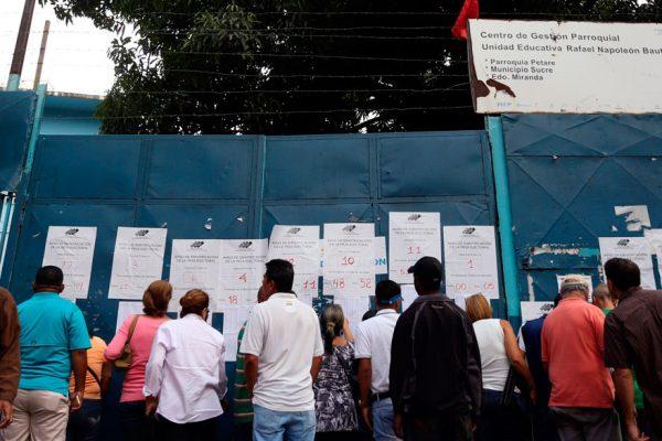 Elecciones contra sanciones