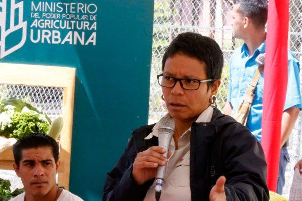Erika Farías será la candidata chavista a la Alcadía de Libertador