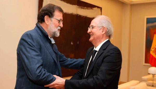 Así fue reunión entre el presidente de España y Antonio Ledezma
