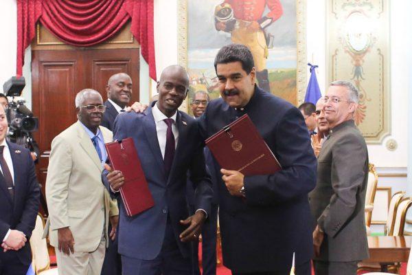 Venezuela y Haití firman convenios agrícolas y energéticos