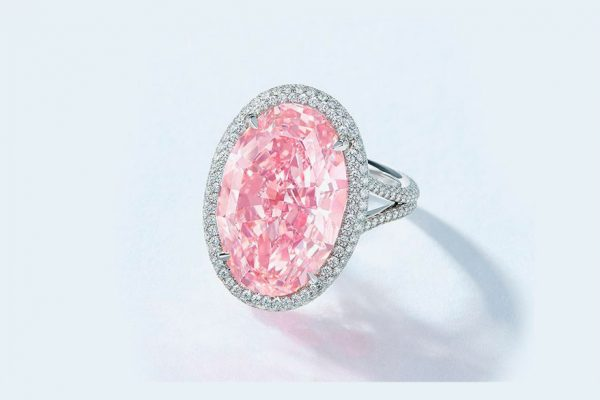 El diamante «Pink Promise» subastado por $32 millones en Hong Kong