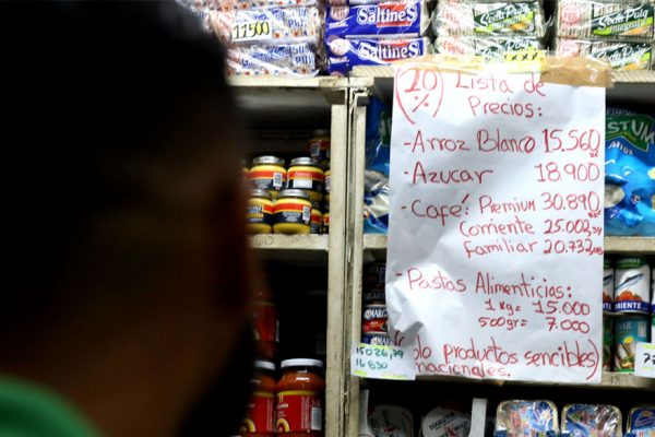 Tapar la inflación con un dedo: caso controles de precios