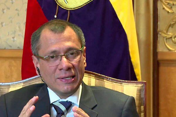 Parlamento de Ecuador aprobó juicio de censura contra vicepresidente