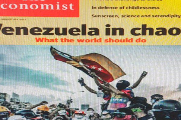 Las publicaciones donde Venezuela fue portada en 2017