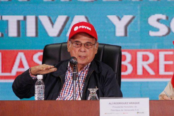 Rodríguez Araque: Principal tarea de Pdvsa es aumentar la producción
