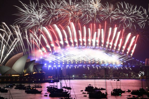 FOTOS   Así recibieron el año nuevo en el mundo