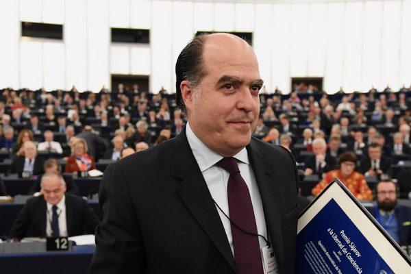 Julio Borges recibió el Premio Sájarov