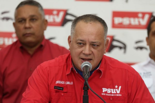 EEUU sanciona a Diosdado Cabello