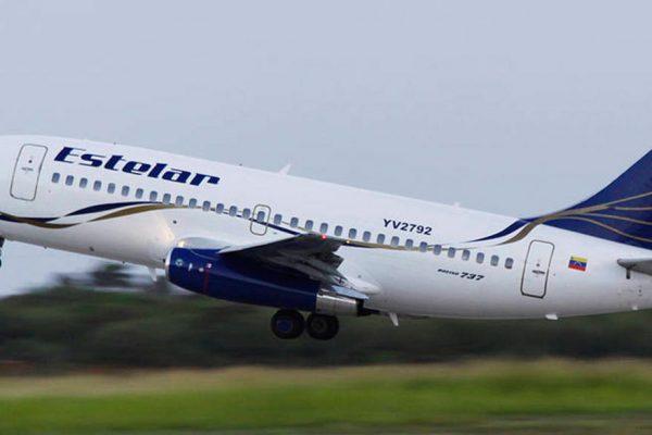 Estelar suspende todos sus vuelos por 30 días más a partir del 12 de abril