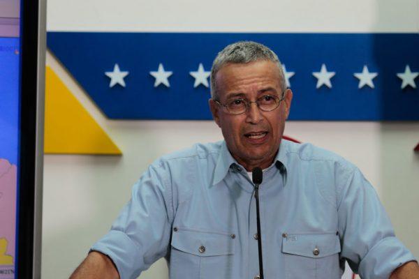 Motta Dominguez culpa a EEUU de dos incidentes eléctricos en Venezuela
