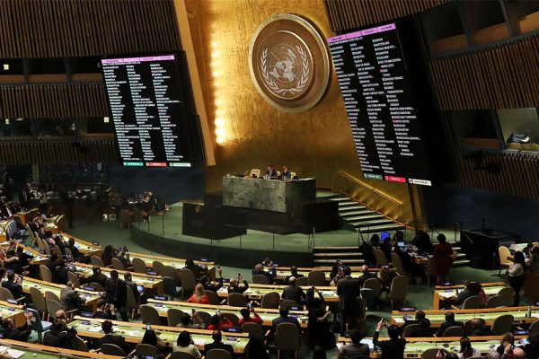 ONU condena ampliamente la decisión de EEUU sobre Jerusalén