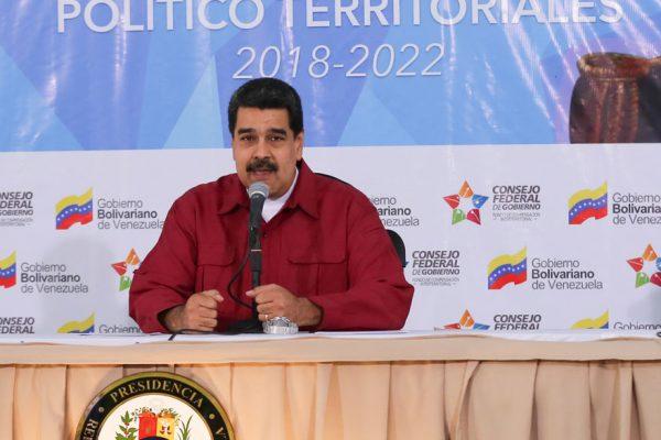 Maduro anunció nuevos ejercicios militares
