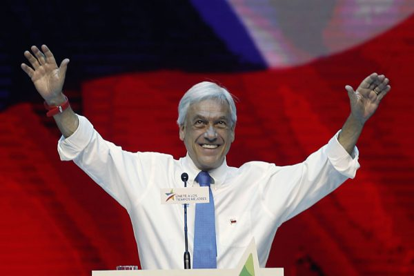 Sabastián Piñera nuevo presidente de Chile