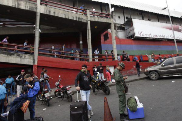 Alcaldía de Caracas reactiva operaciones en el terminal de La Bandera