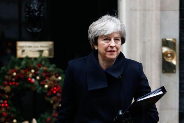 May no puede volver a presentar el mismo acuerdo de Brexit al Parlamento