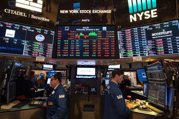Dow Jones sufre su caída más fuerte desde junio de 2016