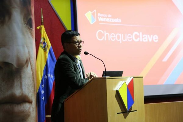 Banco de Venezuela presentó el servicio electrónico ChequeClave
