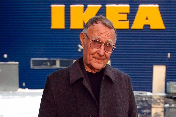 El fundador de Ikea, Ingvar Kamprad, falleció a los 91 años
