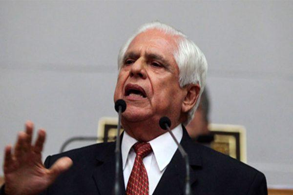 Omar Barboza pidió restituir facultades de la Asamblea Nacional