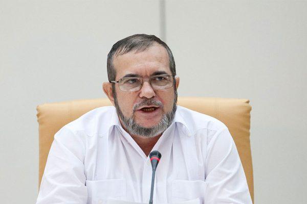 «Timochenko» de FARC lanzó candidatura a la presidencia de Colombia