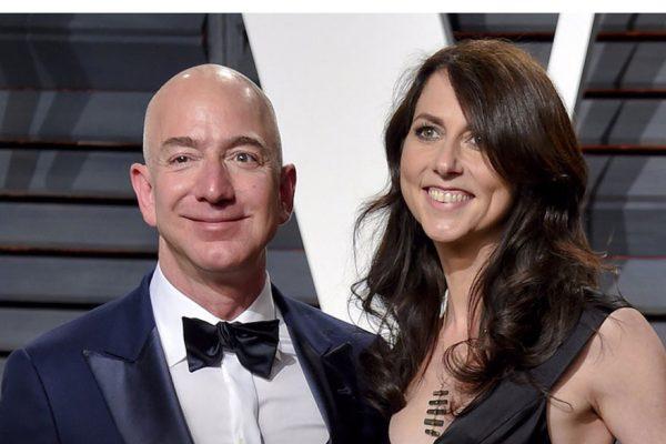 Acuerdo de divorcio le deja a Jezz Bezos la mayor parte de las acciones conjuntas