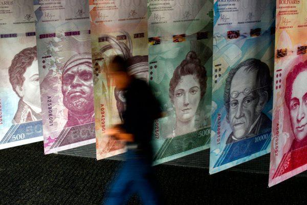 Así se distribuye el actual cono monetario venezolano