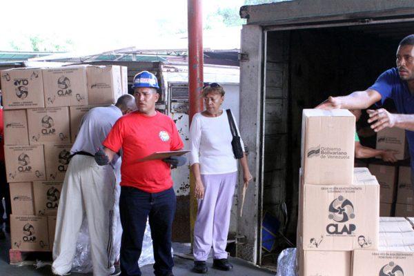 Colombia identifica red que vendía cajas CLAP descompuestas