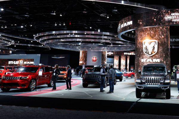 Camionetas dominan el Salón del Automóvil de Detroit