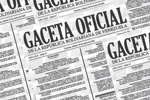 En Gaceta respaldo petrolero para emisión de títulos financieros