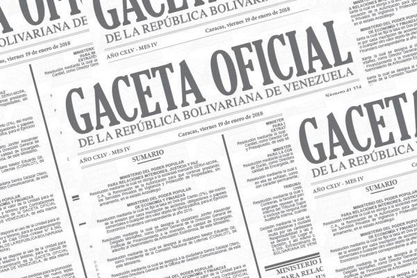 Publican en Gaceta Oficial nombramiento de nuevos viceministros