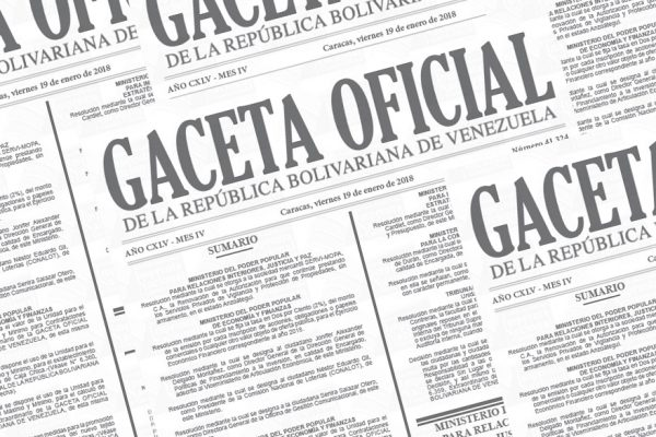 Publican en Gaceta Oficial feriado para sector público y privado del 15 al 17 de abril