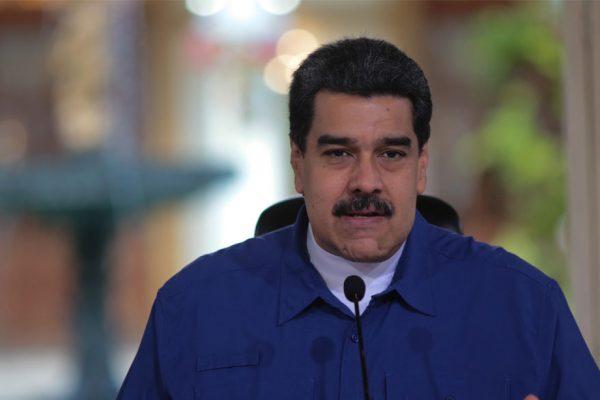 Maduro anuncia racionamiento eléctrico por 30 días