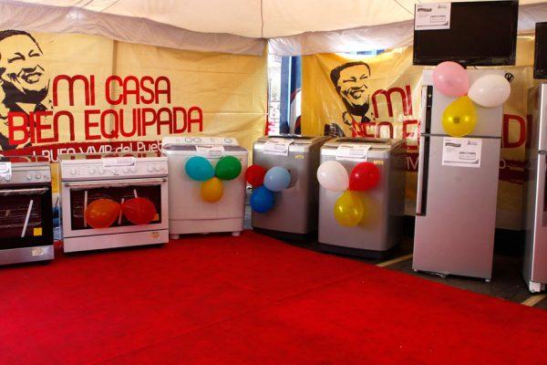 Gobierno de Maduro revive Mi casa bien equipada con un plan especial