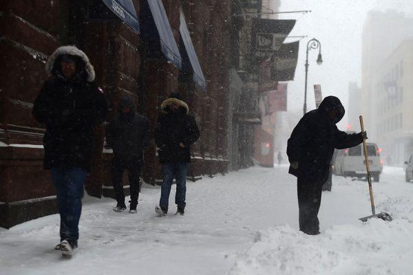 Tormenta de nieve genera caos en España
