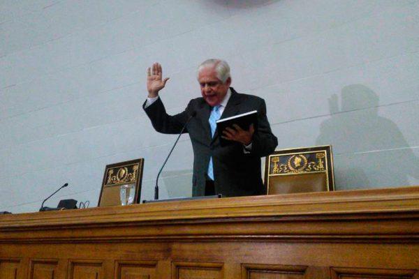 Omar Barboza es el nuevo presidente de la Asamblea Nacional