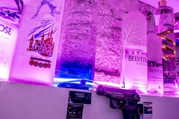 Botella de vodka «más cara del mundo» hallada vacía tras su robo