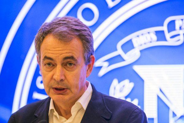 Zapatero rechazó las «amenazas» de Almagro contra Venezuela
