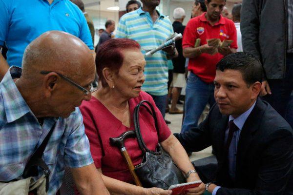 Maduro aprobó la entrega de 33.682 nuevas pensiones a misión «100% Amor Mayor»