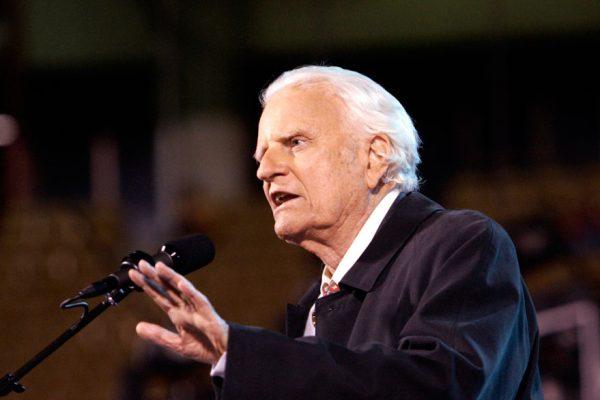 Murió Billy Graham, el pastor de los presidentes de EEUU