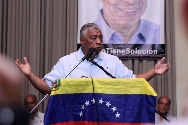El «líder opositor» Claudio Fermín rechaza la política con «tutelaje extranjero»