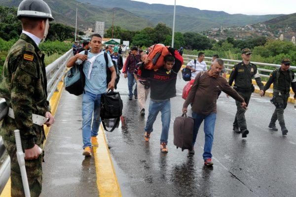 Aumentó en 40% el número de venezolanos que ingresan a Colombia